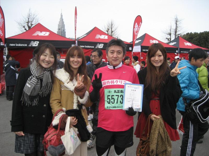 ⊆(・ω・)⊇ 新宿シティハーフマラソン!!!⊆(・ω・)⊇